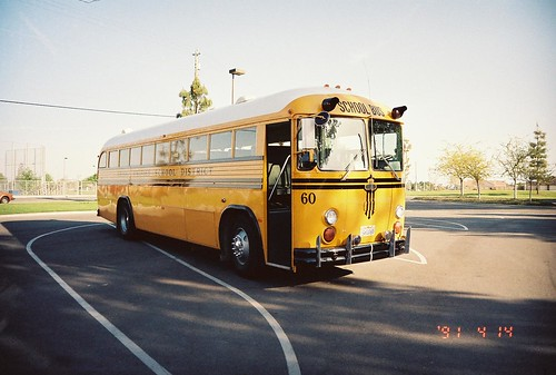 FRESNO UNIFIED SCHOOL DISTRICT BUS 60   Bus 60 was one of ...