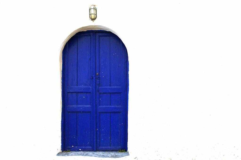 Arjun Blue door white wall | by ... Arjun  sc 1 st  Flickr & Blue door white wall | Blue and white are the definitive cou2026 | Flickr