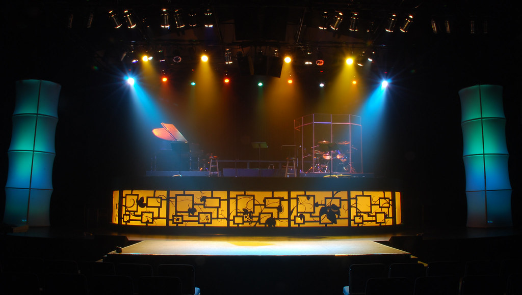 simple stage design ideas image luxurious project on myroom - Concert Stage Design Ideas