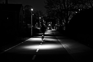 Bicycle Path by Night | by Mikael Colville-Andersen