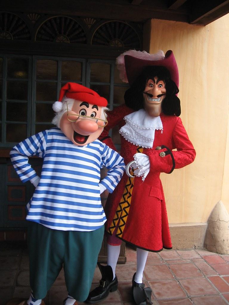 captain hook mr smee woodbreyfamilytravel flickr
