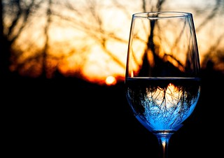 34/365: Sunset Wine | by rogersmj