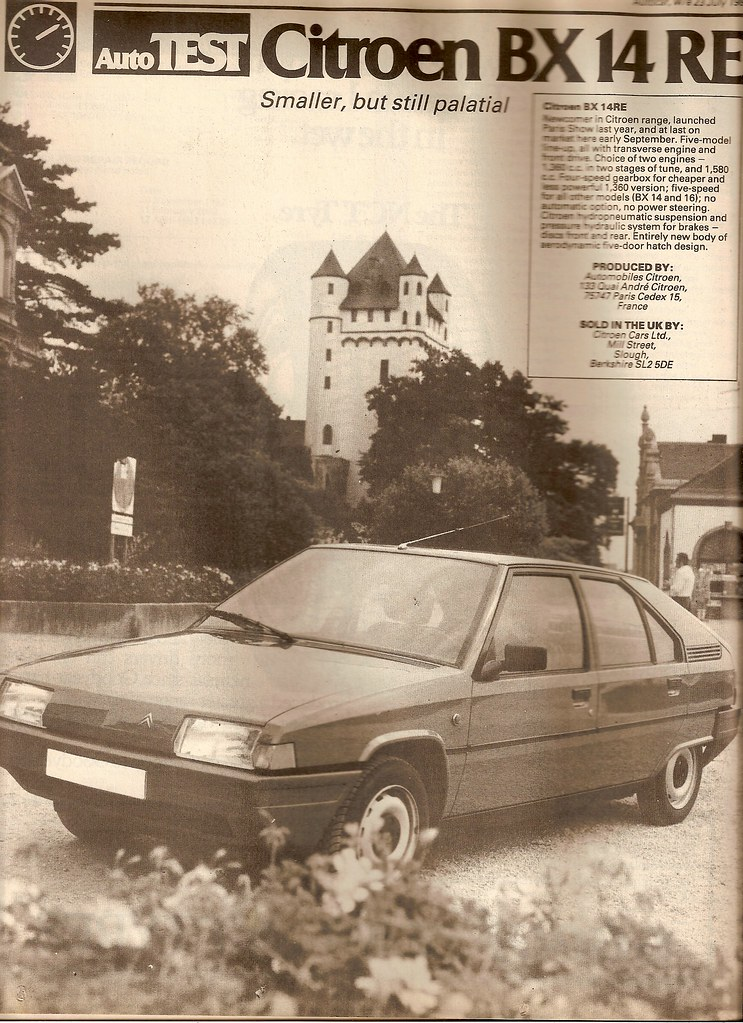 Citroen BX 14 RE Road Test 1983 | Flickr