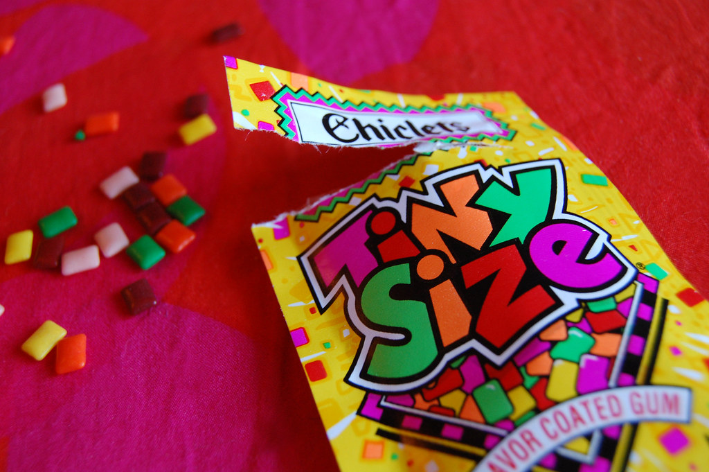 a chiclets tiny size story   I recall being 3 or 4 and eatin…   Flickr