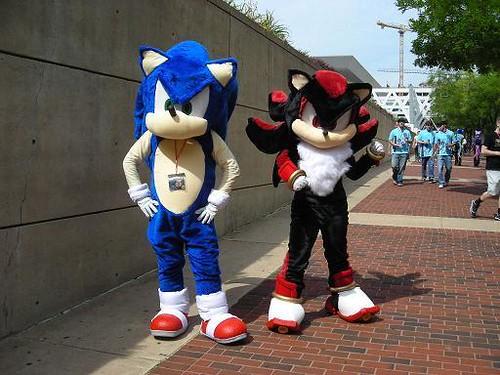 Sonic And Shadow At Otakon Sonic Cgi Ebay Com Ws