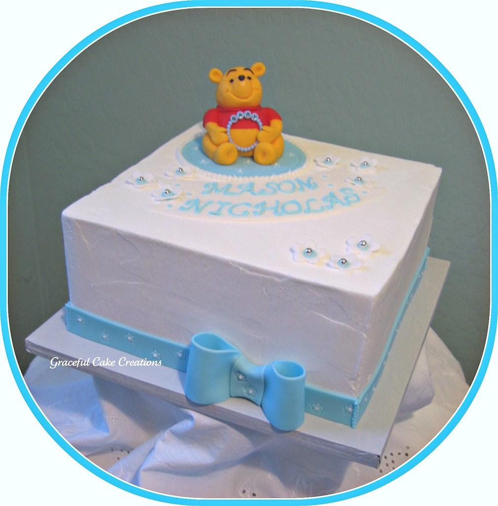 Winnie The Pooh Baby Shower Cake Grace Tari Flickr