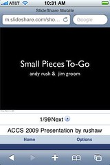 ACCS 2009 Mobile Edition | by rushaw