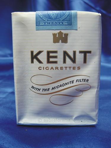 1954 Kent Asbestos Micronite Cigarette Pack Front Flickr