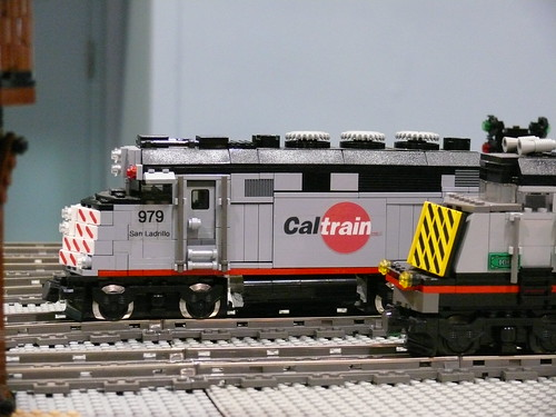 Caltrain Locomotives | by Bill Ward's Brickpile