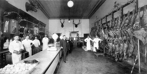 Inside Of The Piche & Miron Meat Market | by Galt Museum & Archives on The Commons