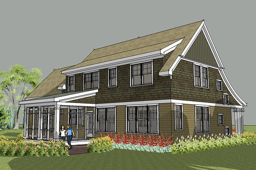 lake elmo cape cod house plan rendering house designed Apartment Rendering house floor plan rendering