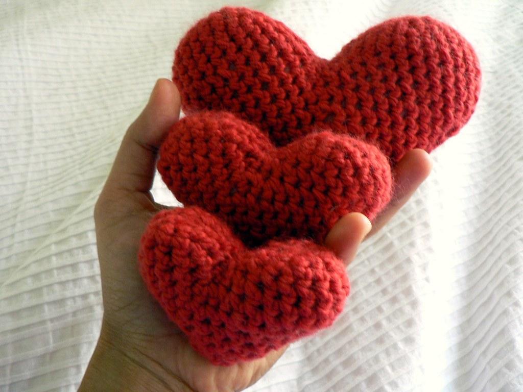 Crochet hearts blogged at salihan crafts free pattern avai flickr crochet hearts by salihan bankloansurffo Gallery