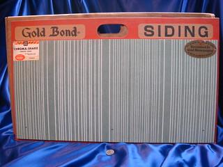Gold Bond Asbestos-Cement Siding Shingle - Full Sample   Flickr