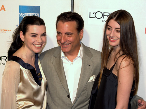 Julianna Margulies, Andy Garcia and Dominik Garcia by David Shankbone | by david_shankbone