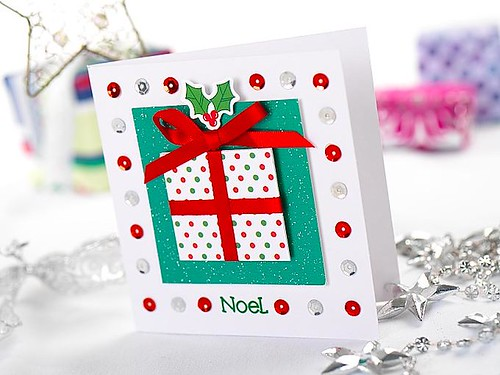 CHRISTMAS CARD styled packshot | by 'Noodles'