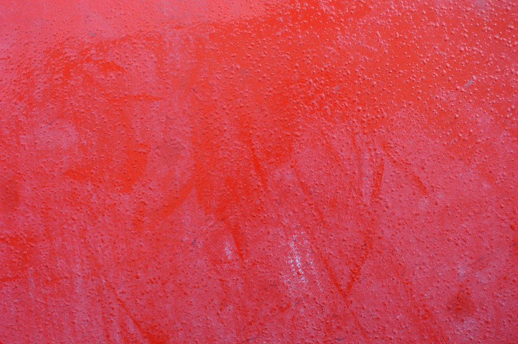 Red Paint On Metal Texture Free texture under creativ comm Flickr