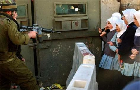 Israeli soldier vs school girls | by The Islamic Workplace