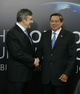 President of Indonesia Dr H Susilo Bamburg Yudhoyono | by London Summit