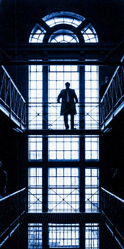 UK - Oxford - Prison silhouette | by Darrell Godliman