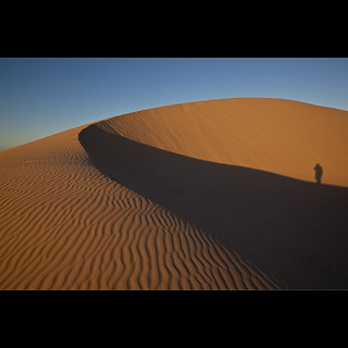 Standing on the Dune - Mungo NP | by Garry - www.visionandimagination.com