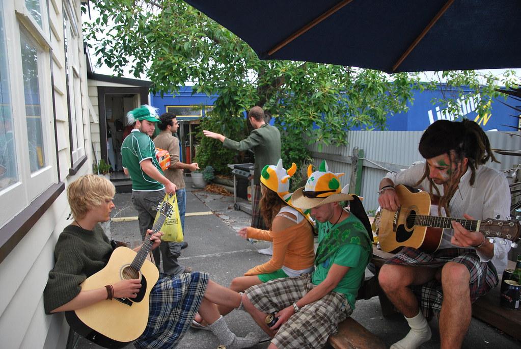 St Patrick's Day - Napier - Hawke's Bay - New Zealand