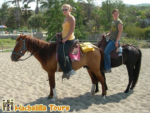 Agua Blanca Horse Riding, Puerto Lopez, Rainforest Tours
