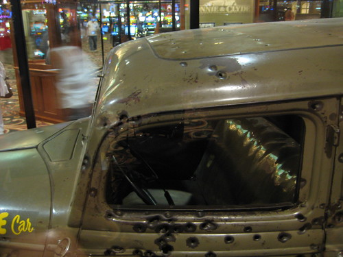 Bonnie And Clyde Car Location: On Display At Primm's Casino