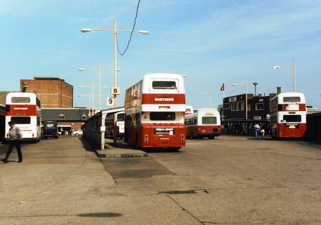 Sunderland Park Lane bus station 1980s Familiar sight to m Flickr