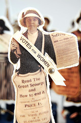 American Suffragette Folk Art Doll Vivian | by Lenae May