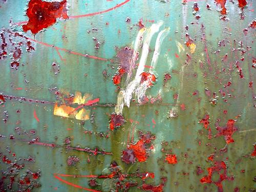 peinture moderne naturel sur mur de fer benoit theodore flickr. Black Bedroom Furniture Sets. Home Design Ideas