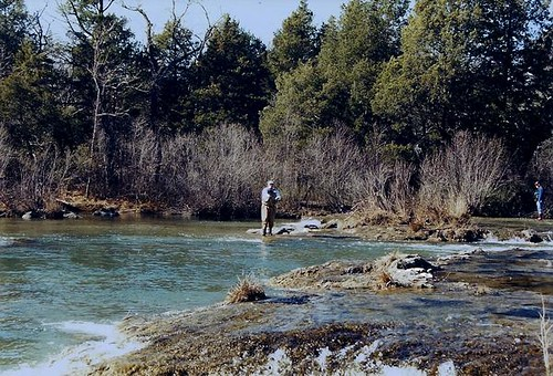 Blue river ok trout fishing on the blue river near for Blue river fishing report