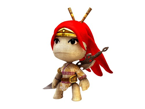 LittleBigPlanet - Heavenly Sword Render | by PlayStation.Blog