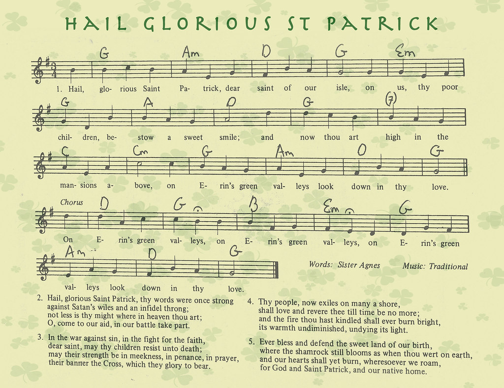 Hail Glorious St Patrick D Happy St Patricks Day March Flickr