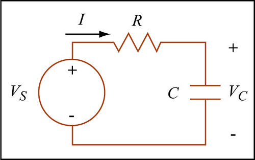 rc circuit a circuit diagram of a resistor capactior circu flickr rh flickr com rc circuit diagram cars rc circuit phasor diagram