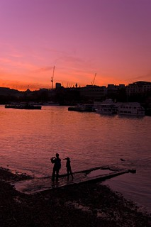 View from Southwark - Thames sunset | by Leo Teles