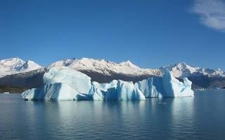 Nature glacial iceberg iceberg floating in lago for Trodel mobel