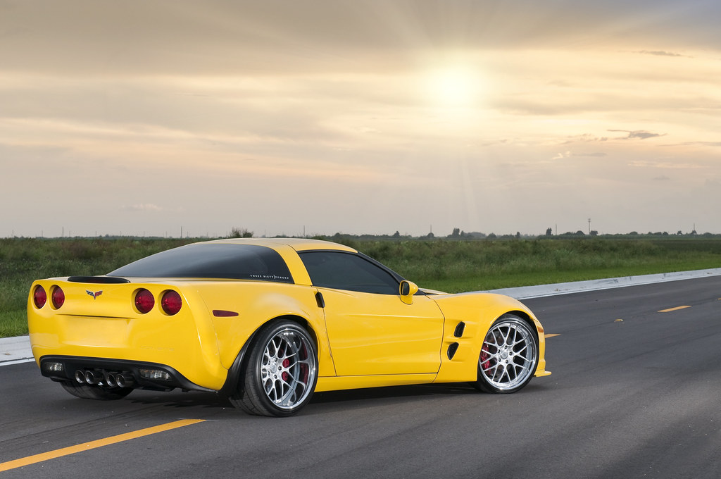 Widebody Corvette Z06 On 360 Forged Mesh 8 View It In Larg 360