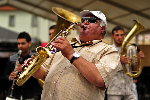 """Fanfara"" Jazz Band Sax Player 