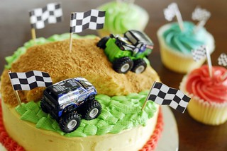 Monster Truck cake | by LynnInSingapore
