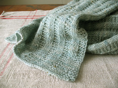 Duck egg blue scarf | by coco knits