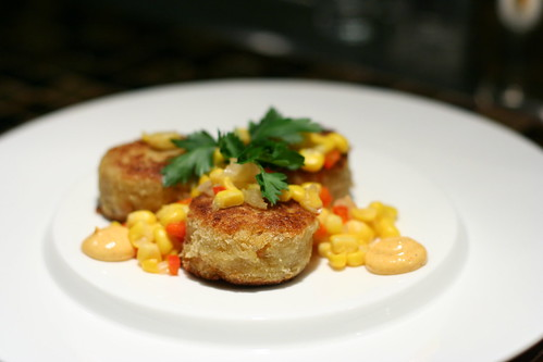 Shrimp Crab Cakes