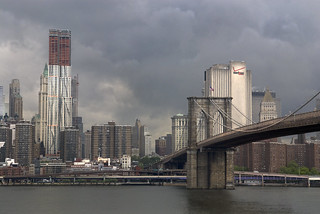 Brooklyn Bridge and Frank Gehry | by Jane Kratochvil (Amazin' Jane)