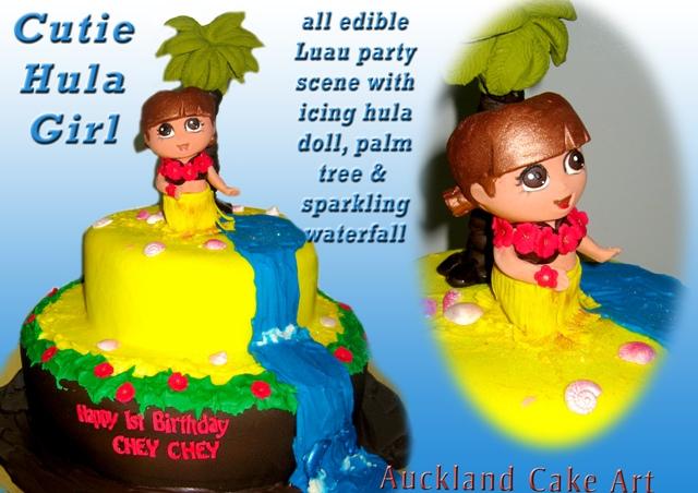 CUTIE DORA EXPLORER HULA GIRL LUAU BIRTHDAY CAKE NEW ZEALA Flickr