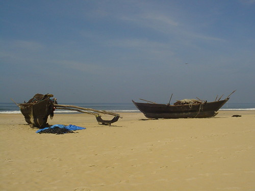 Private beach in Goa | by India Travel Buddy