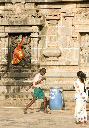 Walking by Kali- Natraj temple, Chidrambaram, Tamil Nadu | by sanjayausta