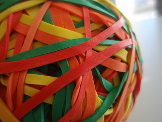 97/365 Rubber band ball | by Mykl Roventine