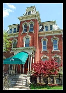 Quirk Mansion In Ypsilanti Michigan The Quirk Mansion