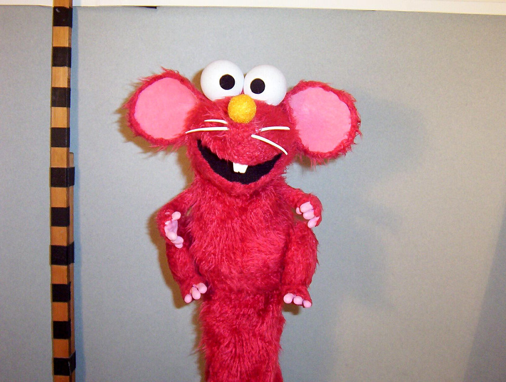 Sesame Street Elmo Optical Kidzmouse Computer Mouse ...