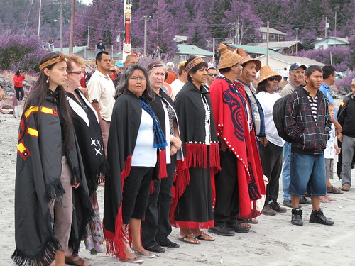 A-in-chut (Shawn Atleo) returns to his home village of Ahousaht | by Ecotrust Canada