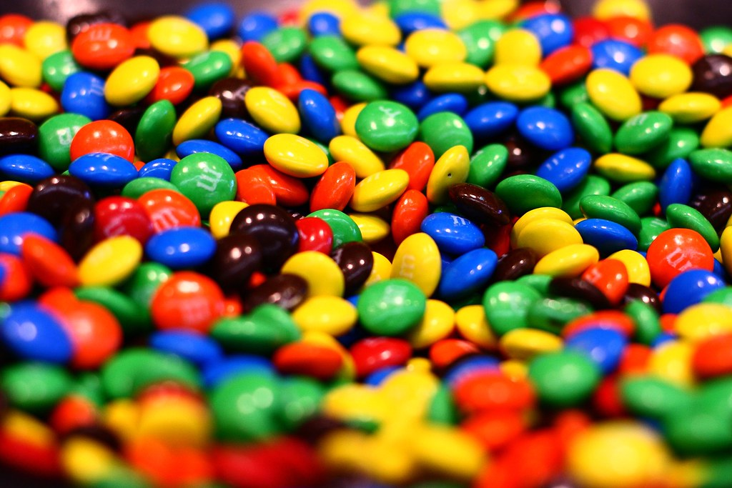 Exercises to burn off M & M's